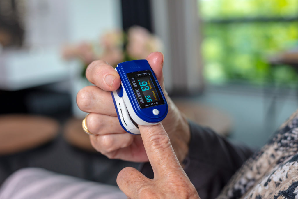 MonitAir | COPD - Saturatie en hartslag meten