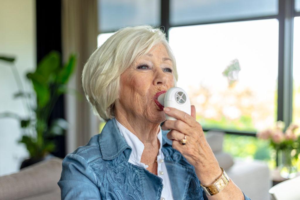 MonitAir | COPD - Uitademsnelheid meten
